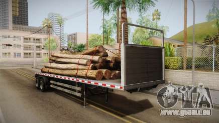 GTA 5 Log Trailer v2 IVF pour GTA San Andreas