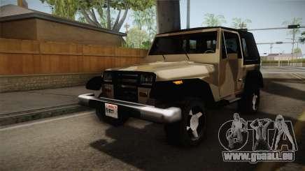 GTA 5 Crusader Mesa für GTA San Andreas
