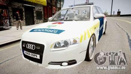 Hungarian Audi Police Car für GTA 4