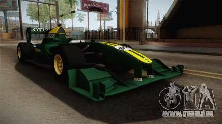 F1 Lotus T125 2011 v1 für GTA San Andreas