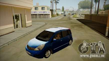 Nissan Note 2008-2009 pour GTA San Andreas