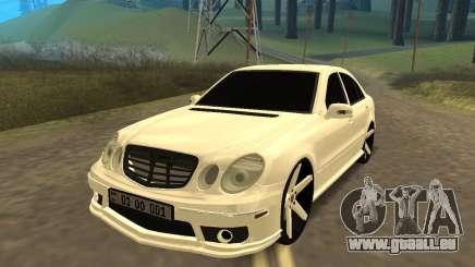 Mersedes-Benz E55 Armenian pour GTA San Andreas