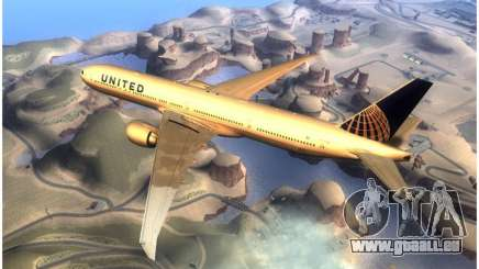United Airlines Boeing 777-322ER - N58031 für GTA San Andreas