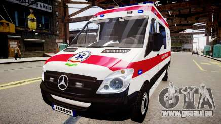 Hungarian Mercedes Sprinter Ambulance pour GTA 4