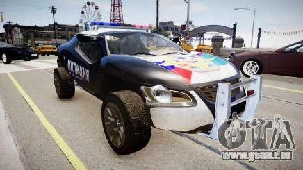 VW Concept T Police pour GTA 4