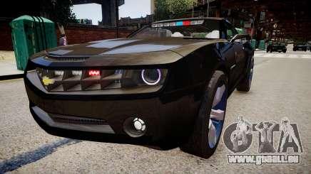 Chevrolet Camaro Concept Police pour GTA 4