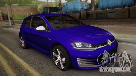 Volkswagen Golf 7R 2015 Beta V1.00 pour GTA San Andreas