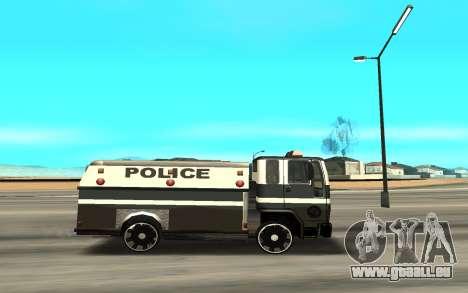 DFT30 Enforcer pour GTA San Andreas laissé vue
