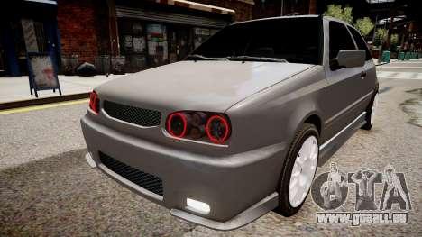 Volkswagen Golf 3 GTI pour GTA 4 est un droit