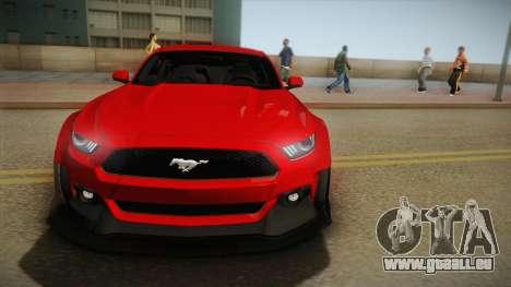 Ford Mustang GT Premium HPE750 Boss 2015 für GTA San Andreas Rückansicht