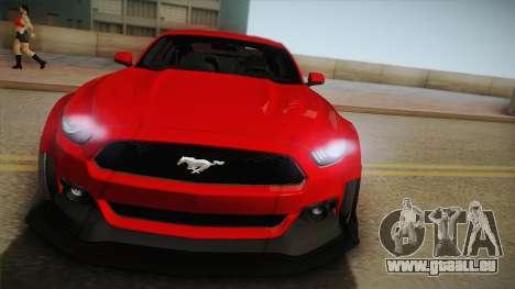 Ford Mustang GT Premium HPE750 Boss 2015 für GTA San Andreas rechten Ansicht