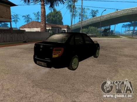 Lada Granta Armenian für GTA San Andreas Innenansicht