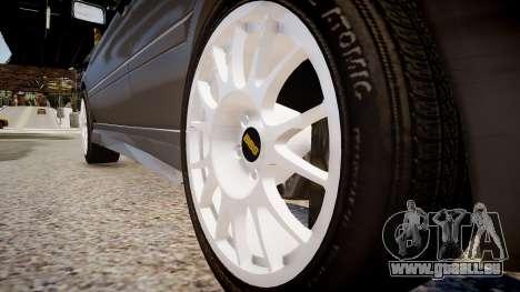 Volkswagen Golf 3 GTI pour GTA 4 Vue arrière