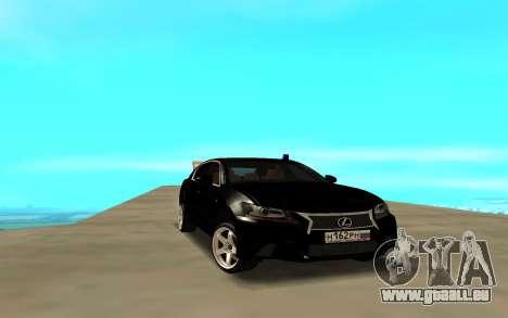 Lexus GS pour GTA San Andreas
