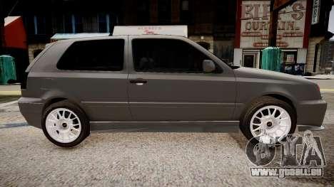 Volkswagen Golf 3 GTI pour GTA 4 est une gauche