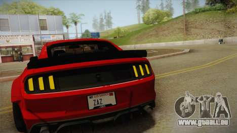Ford Mustang GT Premium HPE750 Boss 2015 für GTA San Andreas obere Ansicht