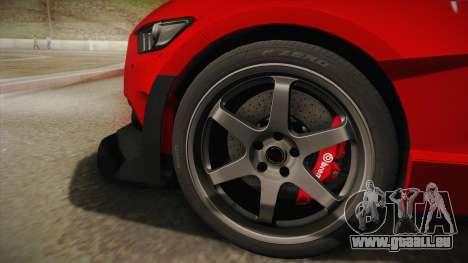 Ford Mustang GT Premium HPE750 Boss 2015 für GTA San Andreas zurück linke Ansicht