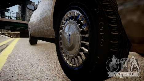 Ford Crown Victoria CVT Detective für GTA 4 Rückansicht