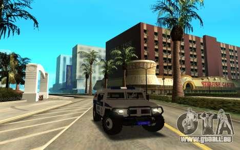 GAZ-233036 pour GTA San Andreas