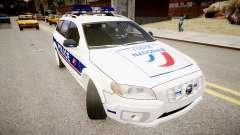 Volvo Police National pour GTA 4