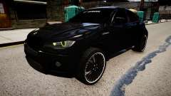 BMW X6 Hamann v2.0 für GTA 4