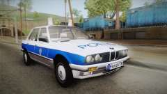 BMW 323i E30 Turkish Police
