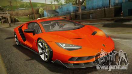 Lamborghini Centenario LP770-4 2017 Painted Body pour GTA San Andreas