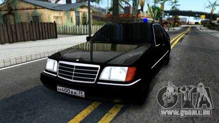Mercedes-Benz W140 400SE pour GTA San Andreas
