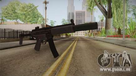 CoD 4: MW Remastered MP5 Silenced pour GTA San Andreas