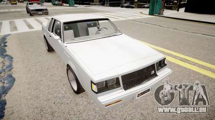 Buick Regal Grand National pour GTA 4