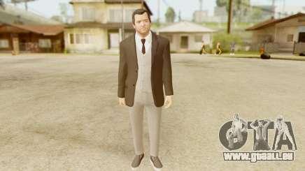 GTA 5 Michael New Suit für GTA San Andreas