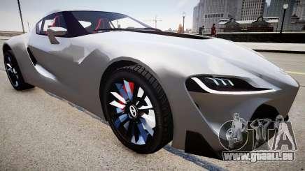 Toyota FTO-1 Concept 2014 pour GTA 4