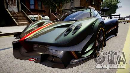 Pagani Zonda R Evolucion Final pour GTA 4