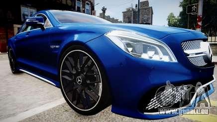 Mercedes-Benz CLS 63 AMG W218 2015 pour GTA 4