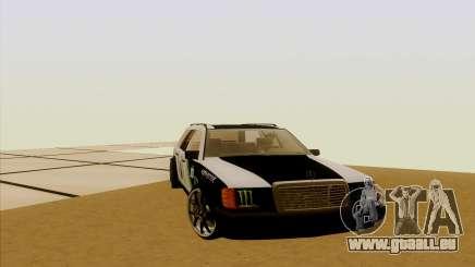 Mercedes-Benz Wagon 300 TD pour GTA San Andreas
