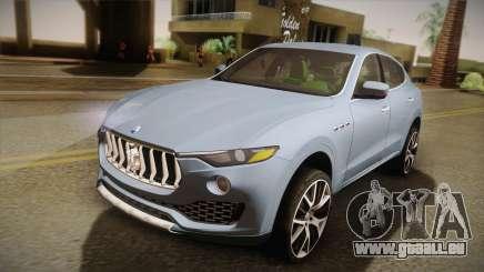 Maserati Levante 2017 pour GTA San Andreas