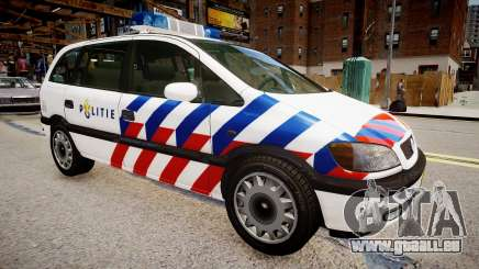 Opel Zafira Police pour GTA 4