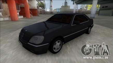 1993 Mercedes-Benz 600SEC für GTA San Andreas