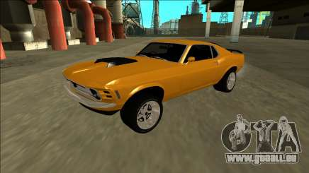 1970 Ford Mustang Boss 429 pour GTA San Andreas