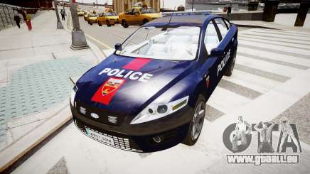 Ford Mondeo Police Nationale pour GTA 4