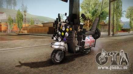 GTA 5 Pegassi Faggio Extreme Tuning v5 pour GTA San Andreas