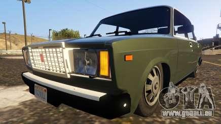 VAZ-2107 (Lada Riva) 1.3 für GTA 5