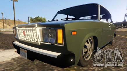 VAZ-2107 (Lada Riva) 1.3 pour GTA 5