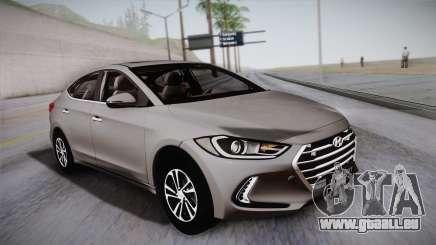 Hyundai Elantra 2017 pour GTA San Andreas