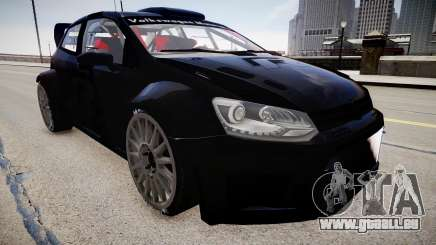 Volkswagen Polo WRC 2013 für GTA 4