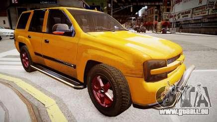 Chevrolet TrailBlazer v2.0 pour GTA 4