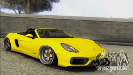 Porsche Boxter GTS L3DWork für GTA San Andreas