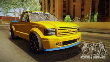 GTA 5 Vapid Sadler Racing für GTA San Andreas