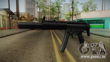 MP5 SD3 pour GTA San Andreas