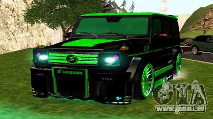 MERCEDES-BENZ G65 GELENDWAGEN AMG pour GTA San Andreas
